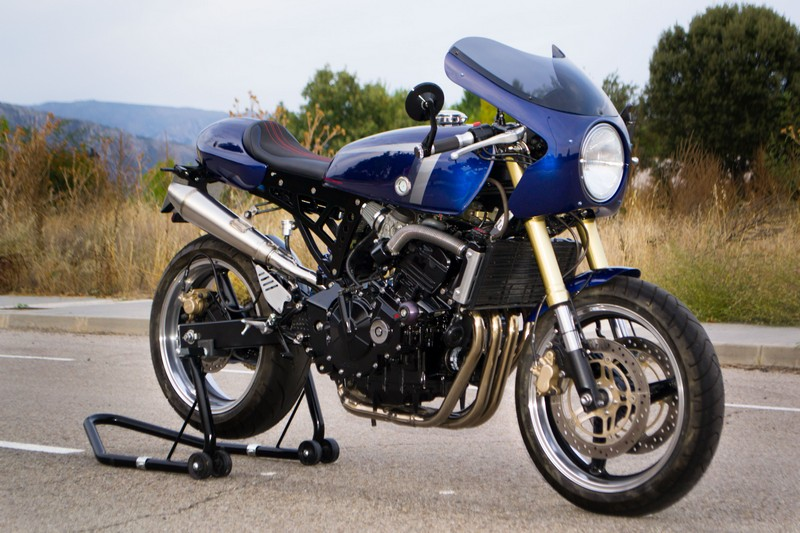 CB600 Honda Hornet cafe racer Three Stones Cycles