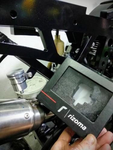 Cb600f montaje